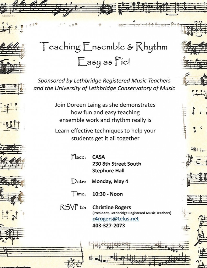 Teaching Ensemble & Rhythm